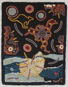 Défi australien   traditional Australian Picnic by Anne Coidan.  photo by babillard