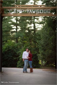 Congratulations to Jessica and Chris on their engagement at Camp Yawgoog! The image was taken at the T. Dawson Brown Gateway.  An October 2013 blog post by Kristen Jane Photography.