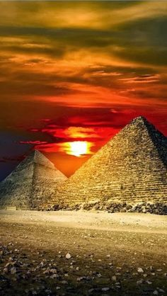 Great Pyramid of Giza, Egypt is the oldest and largest of the three Pyramids in the Gaza Necropolis bordering what is now El Giza, Egypt. It is the oldest of the Seven Wonders of the World and the only one to remain largely intact