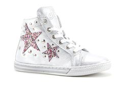 Giga Silver Star Sneakers for Girls