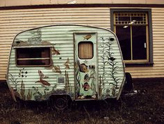 love small, painted campers