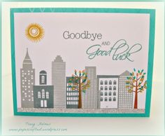 city scape rubber stamps | Paper Craft Nut | Totally addicted to paper crafts. CTMH Cityscapes