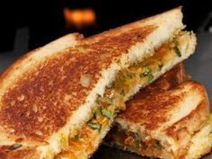 Spicy Thai Grilled Peanut Butter Sandwich : Recipes : Cooking Channel