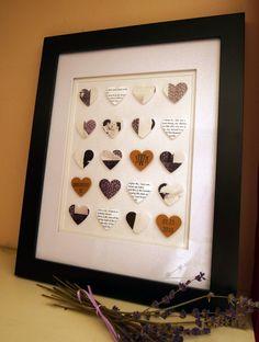 anniversari idea, wedding anniversary, artsi crafti, diy craft, 3rd anniversary gift ideas, wedding art, valentine day gifts, unique weddings, wedding gifts