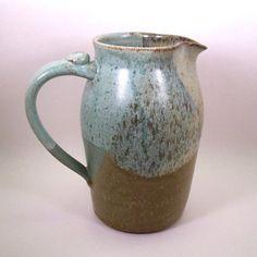 Stoneware Pottery Pitcher