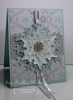 Festive Flurry by erinbh - Cards and Paper Crafts at Splitcoaststampers