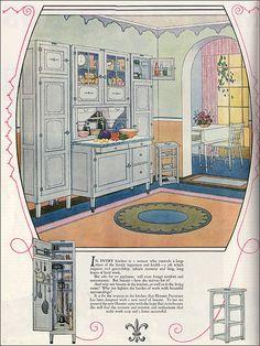 Hoosier cabinets 1925