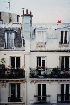 paris balconies...