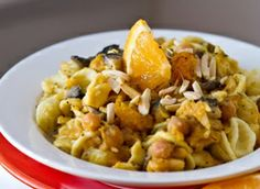 Mushroom Monday: Winter Harvest Citrus Pasta