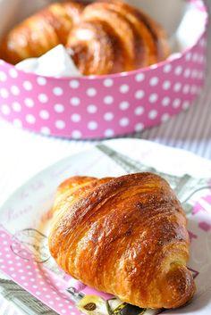 croissant con pasta madre