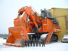 http://pinterest.com/itogermany/heavyequipment/ Hitachi Ex 8000 Heavy Equipment Picture