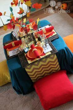 8 inspiring Thanksgiving tablescapes   #Thanksgiving #BabyCenterBlog