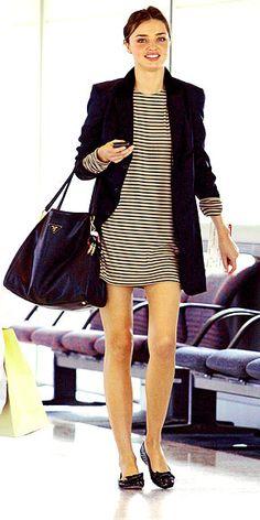 Miranda Kerr- airport style
