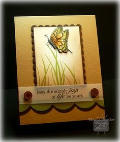 Gina K Designs Card