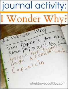 Encourage a child's curiosity with this fun journal activity to find answers to their questions. #AETN #BeMore