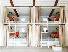 I love these bunkbeds