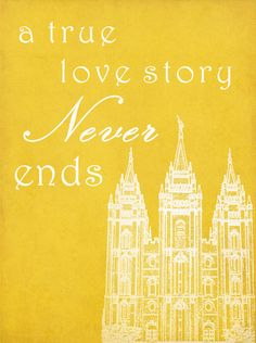 11x14 Printable - A True Love Story Never Ends