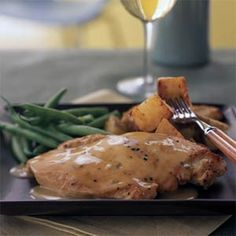 Chicken with Lime Sauce | MyRecipes.com
