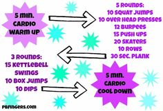 """Fight workout boredom with this """"all over the place"""" workout!"""