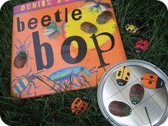 """""""Beetle Bop"""" with beetle craft."""