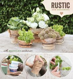 DIY ideas from natural materials