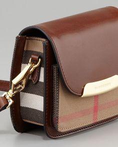 Burberry Check Small Crossbody Bag