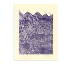 Hey, I found this really awesome Etsy listing at https://www.etsy.com/listing/172493857/waves-riso-print