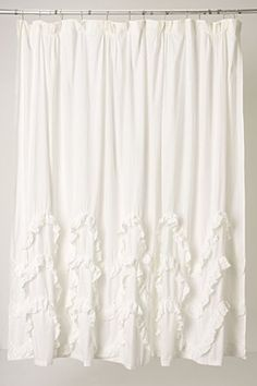 Anthropologie Shower Curtain: Shower curtain