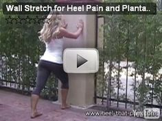 Heel Pain Exercises & Heel Pain Stretches