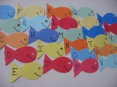 Bubble wrap painting fish