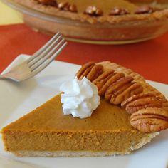 Maple Pecan Pumpkin Pie is a go-to classic.