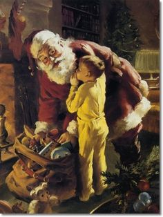 Twas The Night Before Christmas - Howard A.Terpning