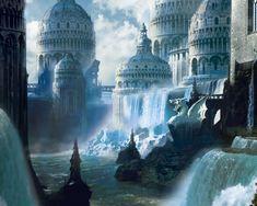 Fantasy city.