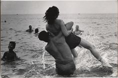 """Garry Winogrand (American, 1928–1984). Coney Island, New York, c. 1952. Gelatin silver print. The Museum of Modern Art, New York. Purchase and gift of Barbara Schwartz in memory of Eugene M. Schwartz. © The Estate of Garry Winogrand, courtesy Fraenkel Gallery, San Francisco. All rights reserved.  This photograph is featured in """"Garry Winogrand,"""" on view through September 21, 2014."""