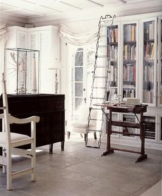 top option  Large Fire Ladder Hook;   feature of Stephen Sill's Home