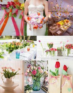 Tulip Wedding Flowers from The Wedding Community