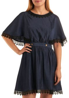 Cape by the Lake Dress