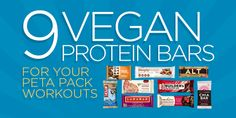 9 Vegan Protein Bars #MyVeganJournal