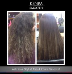 Now you can beat the heat by eliminating up to 99% of curl and frizz with Kenra Smooth®. Get smooth, frizz-free hair all summer long! http://www.kenrasmooth.com/