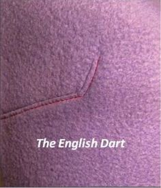 Darts are one of the most fundamental sewing techniques. Almost every garment sewer executes them in some form on a regular basis. I recently learned about one type of dart that you might not know of — the English dart. Let's learn more about the English dart, including how to add this fashionable design element to your own patterns! pattern