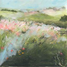 wild flower, flower pathway, ike art, sue fenlon, diy paint, artist, flowers, blog, fenlon art
