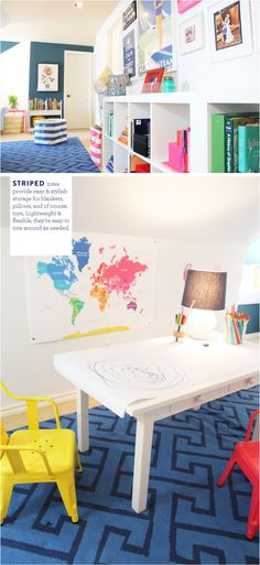 Colorful Living Spac