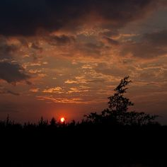 Sunset from the Deck, via Flickr.
