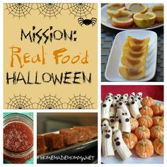 Mission: Real Food Halloween