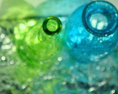 Cool Aqua & Apple Green~