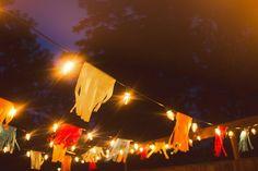 lights and tissue fringe