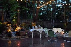 Outdoor Lighting - All Things Heart and Home  #outdoorlighting #outdoorliving