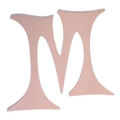 "Unfinished Wood Letter Size: 14"" 1/4"" thick Letter: M (14"" x 14"") Material: Wood product - MDF (medium density fiberboard) 14"" Unfinished letters vary in size depending on the letter."