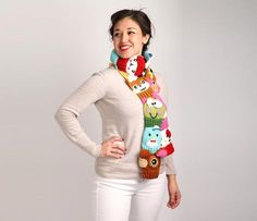 Hello Kitty and Friends Scarf: Multi $40