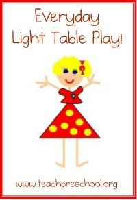 cool ideas for light tables